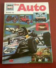 Was ist Was - Band 53: Das Auto - Hans Reichardt - TESSLOFF Verlag