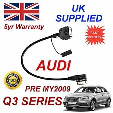 Audi Q3 pre 2009 Mmi 4f0051510c Para Apple 3gs 4 4s Iphone Ipod Cable