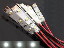 S027 - 10 Stück LED Hausbeleuchtung mit Kabel weiß 8-16V Beleuchtung Häuser