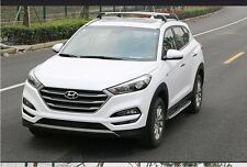 fit for Hyundai TUCSON 2016-17 silver baggage roof rack rail cross bar crossbar