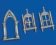 Verlinden 1/35 Church Door and Windows (1 door & 2 windows) [Resin Diorama] 1954