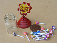 1:12 Scale Chupa Chups Lollipop Holder Dolls House Miniature Sweet Accessory