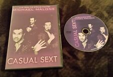 Michael Malone: Casual Sext (DVD) Live From the Strand Theatre stand up comedy
