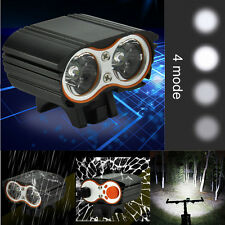 True 2000LM 2 X XM-L T6 LED USB Waterproof Lamp Bike Bicycle Headlight