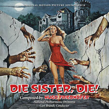 Die Sister Die - Complete Score - Limited Edition - OOP - Hugo Friedhofer