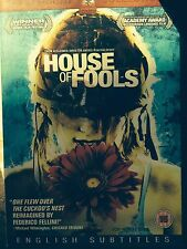 Bryan Adams HOUSE OF FOOLS ~ 2003 Andrei Konchalovsky Russian Drama Rare UK DVD