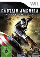 Nintendo Wii Capitán América Super Soldier * estrenar
