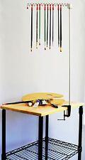Artist Brush Hanger holder: for Windsor Newton oil paints, acrylics, watercolors