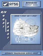 Mitsubishi R4A51 V4A51 V5A51 ATSG CD Repair Rebuild CD Transmission Guide