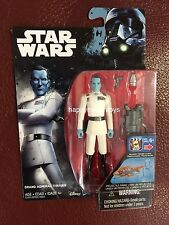 Star Wars Rogue One Rebels Grand Admiral Thrawn 3.75 Inch Blue Yellow Red Figure
