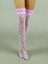 1/6 Scale Phicen, Hot Toys, Kumik, Cy, VG - Female Sexy Lite Pink Lace Stocking