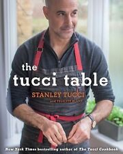The Tucci Table: Cooking With Family and Friends-ExLibrary