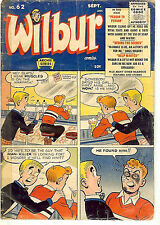 Wilbur #62 (Archie Comics 1955; vg 4.0) Guide value: $18.00 (£12.00)