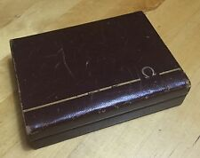 OMEGA Watch Box Scatola 1950s Seamaster Speedmaster Constellation Aqua Ocean OEM