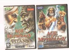Rare !!! AGE OF MYTHOLOGY + Extension THE TITANS : Un Jeu Culte sur PC