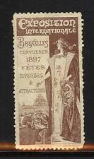 33588/ Reklamemarke - Exposition Internationale - Bruxelles 1897 - (2)