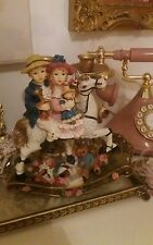 Days Gone By Vintage Toy Room Ornate Rocking Horse figure
