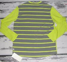LULULEMON~NWT~$88.00~STRIPED *IN YOUR ELEMENT* LONG SLEEVE TEE SHIRT~XXL (RARE)