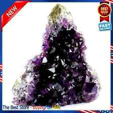 Crystal Natural Purple Amethyst Specimen Cluster Gemstone Quartz 1lb to 2lbs
