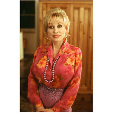 Dolly Parton in Pink Flowered Shirt and Purple Skirt 8 x 10 inch photo