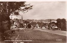 Forest Row Nr East Grinstead unused RP old pc Valentines probably late 1930's