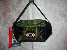 GREEN BAY PACKER GREEN NYLON TRAVEL BAG-BRAND NEW WITH TAGS