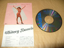 Whitney Houston Whitney Dancin Special cd 6 tracks 1986 Made In Japan Ex Conditi
