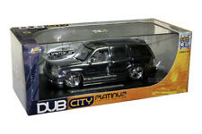 2002 CADILLAC ESCALADE DIE CAST CHROME 1/24 BY JADA DUBCITY 59649
