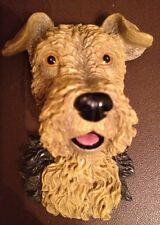 AIREDALE TERRIER REALISTIC 3D STURDY RUBBER MAGNET~NEW!