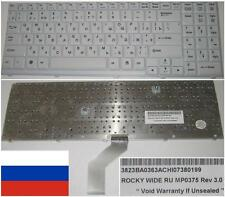Clavier Qwerty Russe LG R500 Series  MP0375 3823BA0363AC Blanc