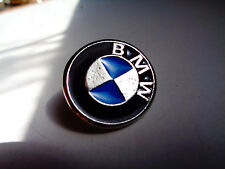Vintage BMW Motorcycle Jacket Pin Classic Factory Emblem Dealership Vest Badge