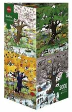 Hy29340-puzzles Heye-triangulaire, 2000 PC - 4 Saisons, Blachon