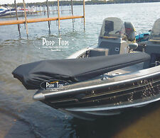 "Minn Kota Trolling Motor Cover  By PoppTops Fits Terrova w/45"" Shaft.  BLACK"