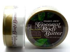 Trader Joe's Coconut Oil Body Butter with Shea Butter & Vit E -NEW w/ Seal 8 OZ