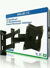 "Valueline tv wall mount full motion support 26-42""/66-107cm 20kg free p&p"