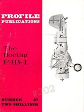 The BOEING F4B-4 - Profile Publications No 27