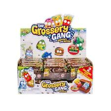 Grossery Gang Crusty Chocolate Bar Lot of 10 -  20 Total Grosseries