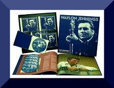 Waylon Jennings , The Journey , Six Strings Away  ( Box 6 CD + Booklet )