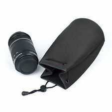 Water resistant Neoprene Soft Camera Lens Pouch Bag Case Cover For Canon EOS