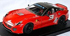 Ferrari 599 XX Coupe 2009 #3 rot red 1:18 HotWheels