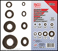 BGS - Imperial/SAE - Rubber Grommet Assortment - 180 Pc Set - 8112