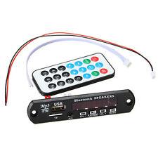 12V MP3 WMA Decoder Board Wireless Bluetooth Audio Module USB TF Radio for Car