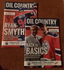 Connor McDavid Rookie First Home Goal Cover Oilers Program 1st & 2nd Home Games