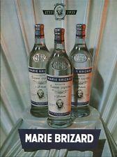 """Publicité Ancienne """" Boisson Marie Brizard Advertising 1955 (P 33) """" Opéra Publi"""
