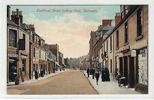 DOCKHEAD STREET LOOKING EAST, SALTCOATS: Ayrshire postcard (C13474)