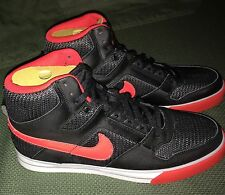 Nike Delta Force High AC Black Red Basketball Sneakers Sz US 11 Vintage