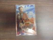 "NEW SEALED ""k.d. lang & The Reclines"" Absolute torch & Twang  Cassette Tape (G)"
