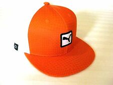 New Cobra / Puma Cat Patch New Wave Rickie Fowler Flat Bill Hat/Cap Snap Back