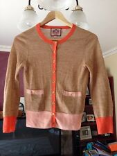 Juicy Couture Tan Cardigan Long Sleeve Size S