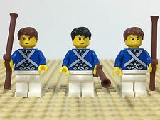 Lego Pirates Militia Guards Soldiers Minifigures